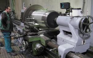 Schwerlast-Maschine für schwere Teile im mittleren Bereich bis 1,5 m Durchmesser