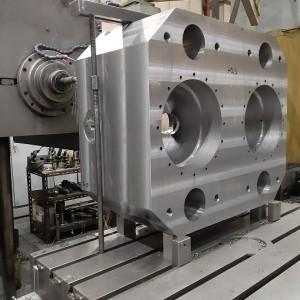 Fussplatte für Doppel-Zylinder